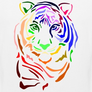 Punk Tiger; Tiger Hoodies - Men's Premium Tank