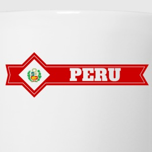 PERU transparent T-Shirts - Coffee/Tea Mug
