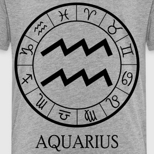 Aquarius astrological zodiac sign Kids' Shirts - Toddler Premium T-Shirt