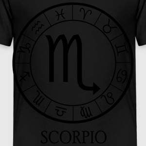Scorpio astrological zodiac sign Kids' Shirts - Toddler Premium T-Shirt