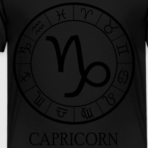 Capricorn astrological zodiac sign5 Kids' Shirts - Toddler Premium T-Shirt