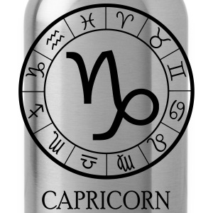 Capricorn astrological zodiac sign5 T-Shirts - Water Bottle