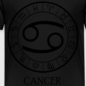 Cancer astrological zodiac sign Kids' Shirts - Toddler Premium T-Shirt