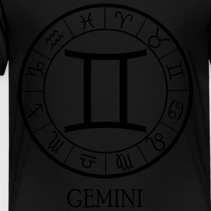 Gemini astrological zodiac sign Kids' Shirts - Toddler Premium T-Shirt