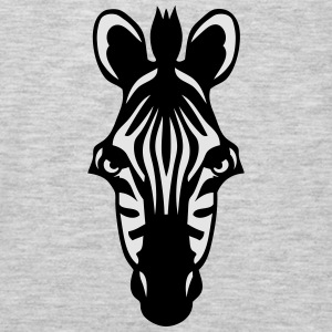 zebra wild animal 1102 Tanks - Men's Premium Long Sleeve T-Shirt