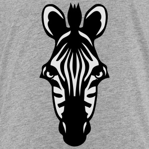 zebra wild animal 1102 Kids' Shirts - Toddler Premium T-Shirt