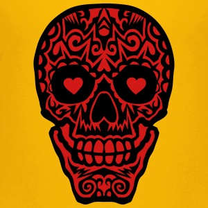 mexican skull tattoo 1012 Kids' Shirts - Toddler Premium T-Shirt