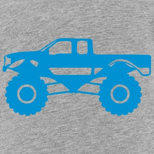 monster truck 1012 Kids' Shirts - Toddler Premium T-Shirt