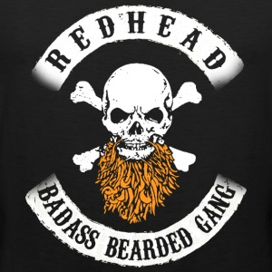 REDHEAD BEARD GANG T-Shirts - Men's Premium Tank