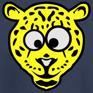 leopards animals funny cartoon face 2 10 Kids' Shirts - Toddler Premium T-Shirt