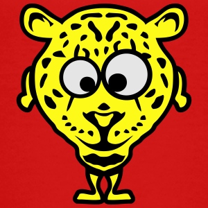 leopard animal cartoon funny face 1010 Kids' Shirts - Toddler Premium T-Shirt