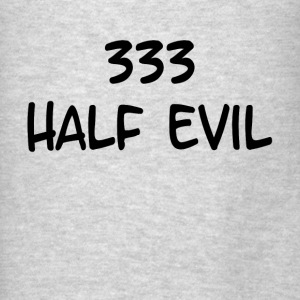 333 Half Evil Demon Hoodies - Men's T-Shirt