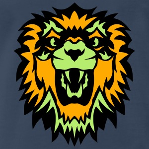 wild animals lion king head  1009 Tanks - Men's Premium T-Shirt