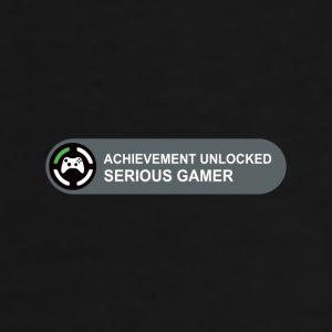 Achievement Serious gamer - Men's Premium T-Shirt