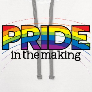 Pride in the Making - Contrast Hoodie