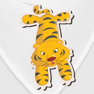 Amusing cartoon tiger design T-Shirts - Bandana