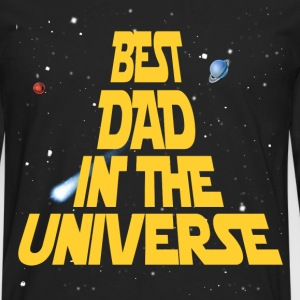 Best Dad In The Universe T-Shirts - Men's Premium Long Sleeve T-Shirt