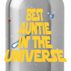 Best Aunt In The Universe Women's T-Shirts - Water Bottle