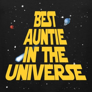 Best Aunt In The Universe Women's T-Shirts - Men's Premium Tank