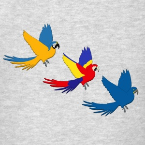 Flying parrots Tanks - Men's T-Shirt