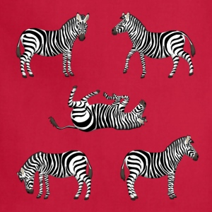 zebra T-Shirts - Adjustable Apron