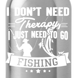 Fishing Therapy Shirt - Water Bottle