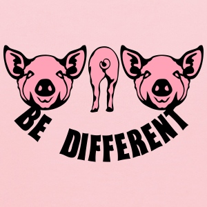 be different pig T-Shirts - Kids' Hoodie