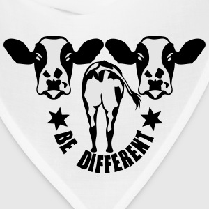 be different cow Long Sleeve Shirts - Bandana