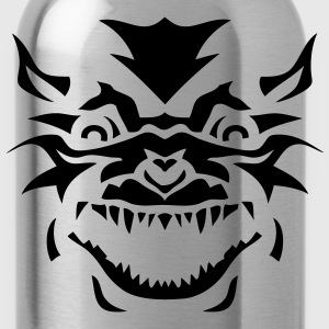 tribal ferocious monster 1002 Kids' Shirts - Water Bottle