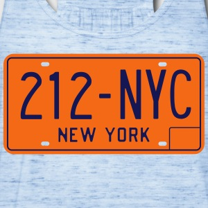 Classic New York License Plate NYC-212 T-Shirt - Women's Flowy Tank Top by Bella