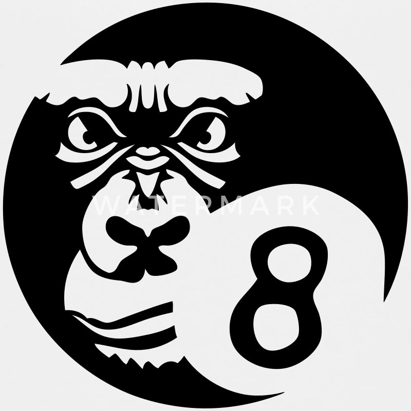 billiard ball sports gorilla logo 0 Kids' Shirts - Kids' Premium T-Shirt