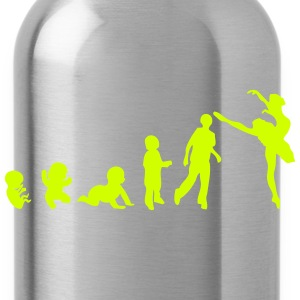 evolution woman dancer ballet 1 Tanks - Water Bottle
