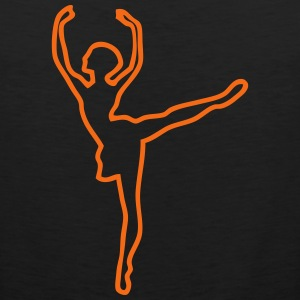 ballet dancer 167 T-Shirts - Men's Premium Tank