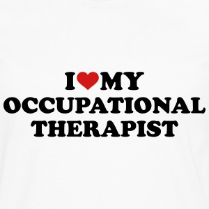 I love my occupational therapist T-Shirts - Men's Premium Long Sleeve T-Shirt