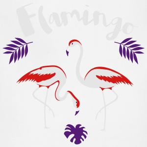flamingo T-Shirts - Adjustable Apron