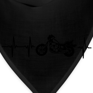MY HEART BEATS FOR MY MOTORCYCLE! Women's T-Shirts - Bandana