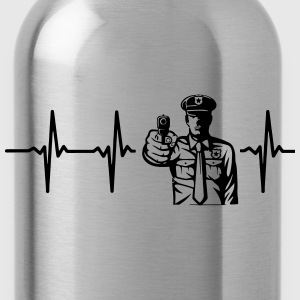 SALUTE OR SHOOT! POLICE OFFICER Other - Water Bottle