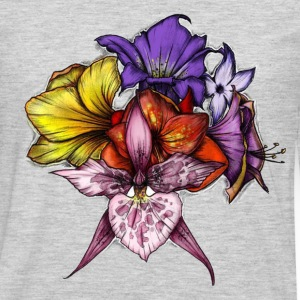Floral - Men's Premium Long Sleeve T-Shirt