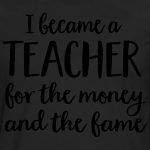 teacher T-Shirts - Men's Premium Long Sleeve T-Shirt