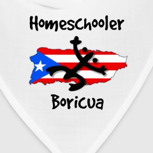 Homeschool Boricua Kids' Shirts - Bandana