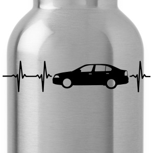 MY HEART BEATS FOR CARS! T-Shirts - Water Bottle