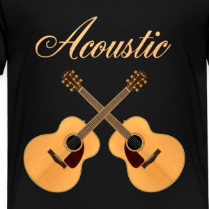 acoustic guitars - Toddler Premium T-Shirt