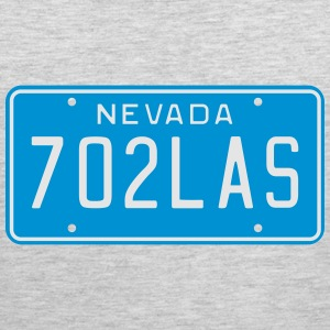Vintage Nevada License Plate T-Shirts - Men's Premium Tank
