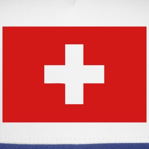 swiss flag switzerland T-Shirts - Trucker Cap