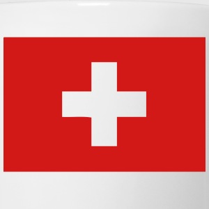 swiss flag switzerland T-Shirts - Coffee/Tea Mug