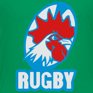 rugby rooster logo team Kids' Shirts - Toddler Premium T-Shirt