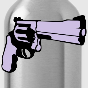 357 revolver gun T-Shirts - Water Bottle