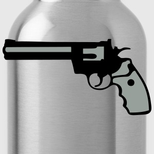 revolver gun 357 912 T-Shirts - Water Bottle