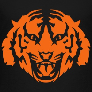 tiger face wild animal 9103 Kids' Shirts - Toddler Premium T-Shirt