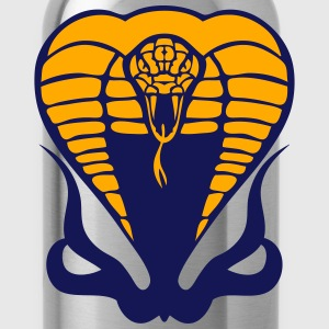 cobra snake 910 T-Shirts - Water Bottle